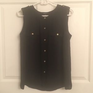 Black women's tank - Medium